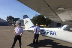 Ahmad Mohammed Alsisi - First Solo Flight
