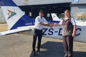 Amit Kumar Singh - First Solo Flight