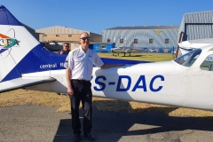 Andrew Retallack - First Solo Flight