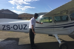Anuj Kumar - First Solo Flight