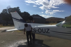 Anuj Kumar - First Solo Flight