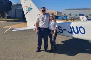 Ashleigh Henning - First Solo Flight