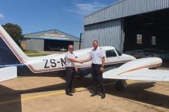 Braam de Vries - Commercial Pilot's Licence