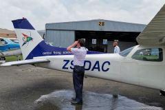 Dominic Julian Scott - First Solo Flight