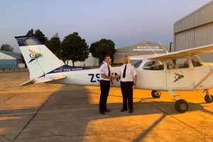 Dylan Du Preez - First Solo Flight