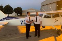 Dylan Du Preez - First Solo Flight