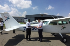 Edmund Quayson - First Solo Flight
