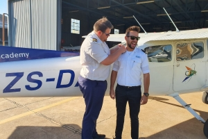 Ennio Desini - First Solo Flight