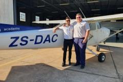 Ennio Desini - First Solo Flight