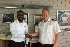 Jean-Paul Kabongo - Commercial Pilot's Licence