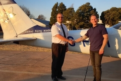 Justin Jarvis - First Solo Flight