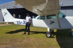 Kalyan Peddi - First Solo Flight