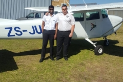 Kalyan Peddi - First Solo Flight