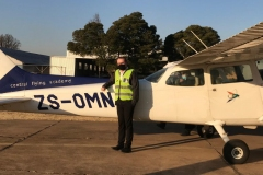 Leonel Leite Ferreira - First Solo Flight