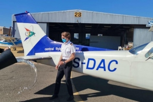Luke du Plessis - First Solo Flight