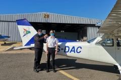 Luke du Plessis - First Solo Flight