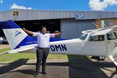 Lupho Booi - First Solo Flight