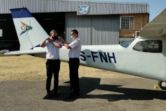 Mario Breedt - First Solo Flight