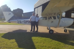 Michael Abbas - First Solo Flight