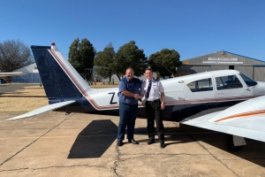 Mitchell Wright - Commercial Pilot's Licence