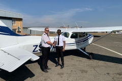 Mudit Singhal - First Solo Flight