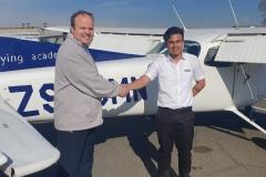 Nirmann Saikia - First Solo Flight