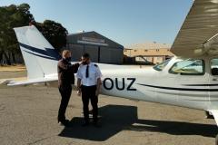 Quillan Strachen - First Solo Flight