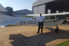 Ronald Van Wyk - First Solo Flight