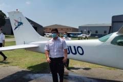Ruan Fox - First Solo Flight