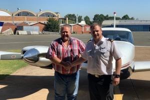 Stefan van Loggerenberg - Commercial Pilot's Licence
