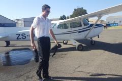 Thomas Roberts - First Solo Flight