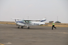 Vaughn Naude - First Solo Flight