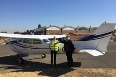 Yehuda Moskovitz - First Solo Flight
