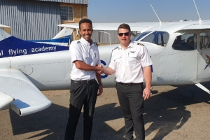 Ziad Minalla - First Solo Flight