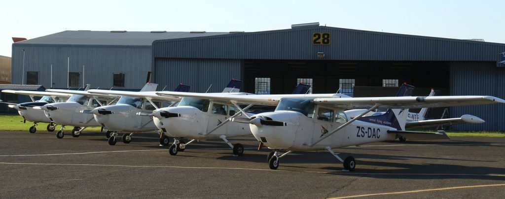 8 Cessna 172s -  all fitted with advanced navigation equipment
